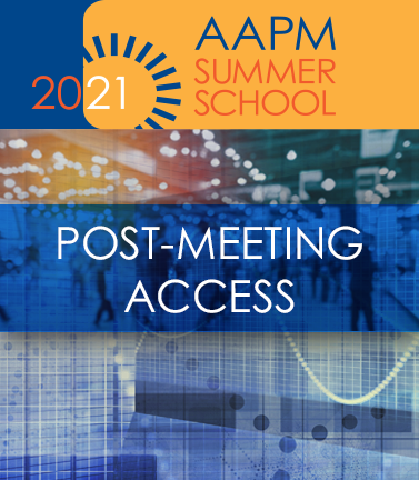 2021 Summer School Post-Meeting Access